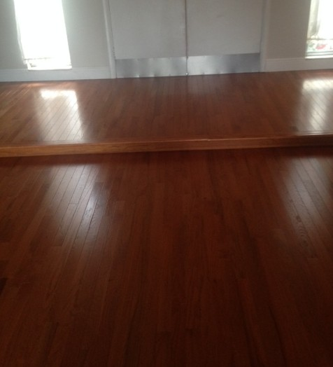 Refinished Engineered Hardwood Floor